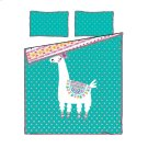 Kids Comforter and Pillowcase Festive Llama - 54'' Product Image