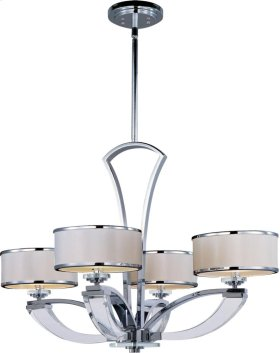 Metro 4-Light Chandelier