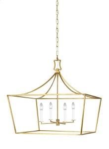 4 - Light Wide Lantern