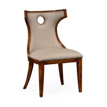 Greek Revival Biedermeier Mahogany Side Chair