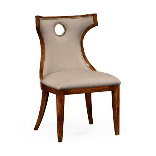 Greek Revival Biedermeier Mahogany Side Chair