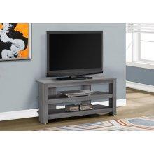 """TV STAND - 42""""L / GREY CORNER"""