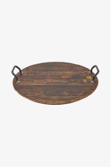 Vintner Oak Barrel Platter STYLE: VNPA01