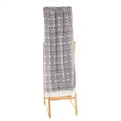 Grey & White Diamond Tribal Throw. Product Image