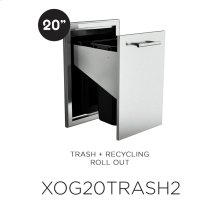 20in Trash Roll Out Drawer