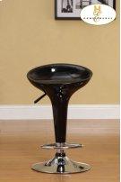 Black Airlift Swivel Stool Product Image