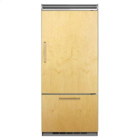 "Professional Built-In 36"" Bottom Freezer Refrigerator - Panel-Ready Solid Overlay Door - Right Hinge*"