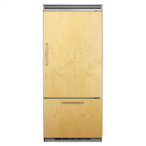 "MarvelProfessional Built-In 36"" Bottom Freezer Refrigerator - Panel-Ready Solid Overlay Door - Right Hinge*"