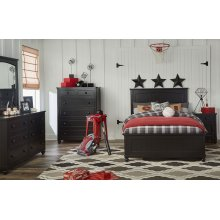 Crossroads Complete Panel Bed, Full 4/6