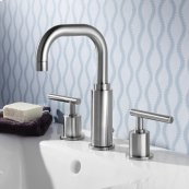 "Serin 8"" Widespread Faucet  High Arc  American Standard - Polished Chrome"