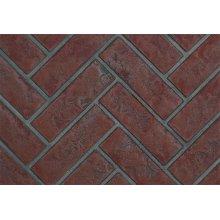 Decorative Brick Panels Old Town Red Herringbone