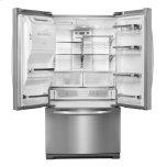 27 Cu. Ft. Standard-Depth French Door Refrigerator, Architect(r) Series Ii - Monochromatic Stainless Steel