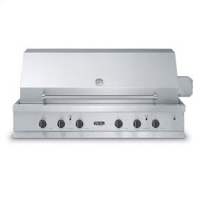 "Stainless Steel 53"" Ultra-Premium E-Series Grill - VGBQ (53""W. E-Series with four standard 29,000 BTU stainless steel burners (LP/Propane))"