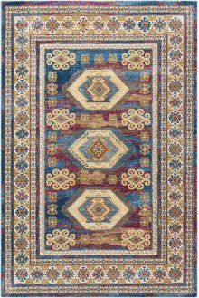 Cordoba Crd03 Blue Rectangle Rug 5'3'' X 7'3''
