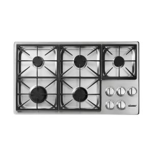 "DacorHeritage 36"" Dual Gas Cooktop, Liquid Propane/High Altitude"