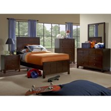 Summerfield 5-Pc. Twin Bedroom Set - Bed, Dresser, Mirror, Nightstand, Chest