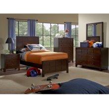 Summerfield 5-Pc. Twin Bedroom Set - Bed, Dresser, Mirror, Nightstand, Chest