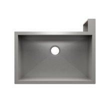 "SocialCorner 005303 - undermount with apron front stainless steel Kitchen sink , 29"" × 18"" × 10"" Right corner"