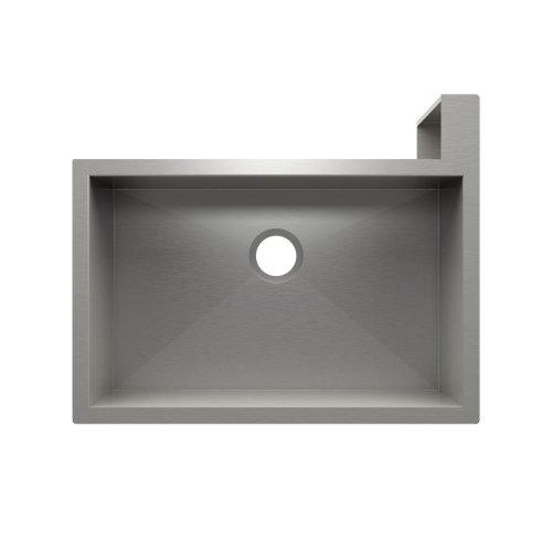 "SocialCorner 005303 - undermount with apron front stainless steel Kitchen sink , 29"" × 18"" × 10"" Right corner"