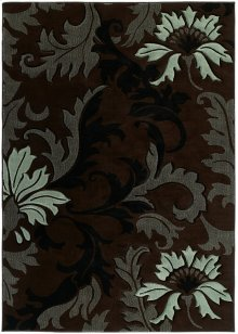Contours Orleans Smoke Blue Rugs