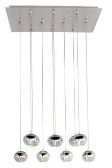 Zing 10-Light RapidJack Pendant and Canopy
