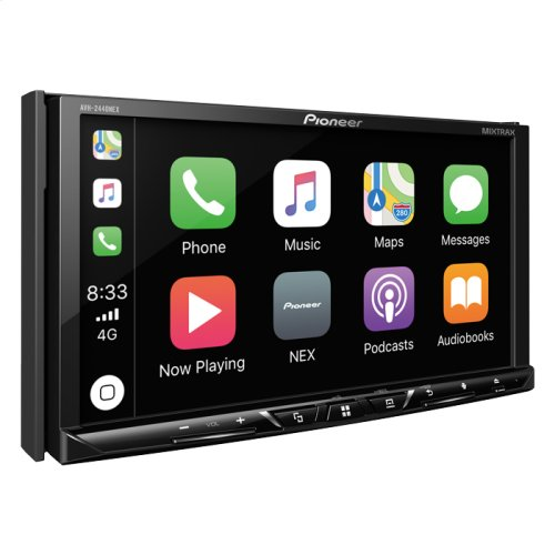 "Multimedia DVD Receiver with 7"" WVGA Display, Apple CarPlay "", Android Auto "", Built-in Bluetooth®, HD Radio "" Tuner, SiriusXM-Ready "" and AppRadio Mode +"