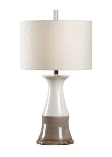 Portofina Lamp - Cream/grey