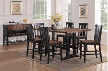 Farm House Style 7 Piece Dining Set