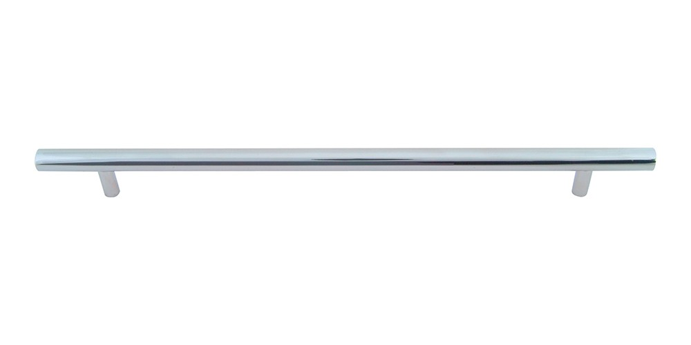 Linea Rail Pull 9 1/16 Inch (c-c) - Polished Chrome