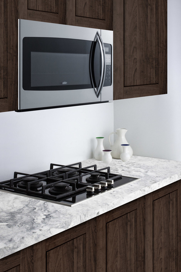 Summit 30 Wide Over The Range Microwave In Stainless Steel