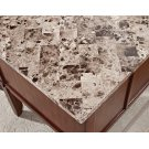 "Montibello Marble Top Writing Desk, 52"" x 28"" x 31"" Product Image"