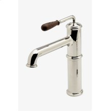Canteen One Hole High Profile Bar Faucet With Oak Lever Handle STYLE: CEKM15