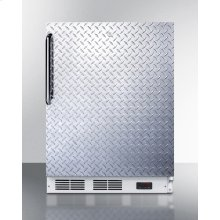 ADA Compliant Freestanding Medical All-freezer Capable of -25 C Operation, With Lock, Diamond Plate Door and Towel Bar Handle