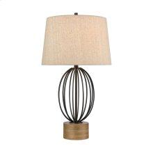 Old Oak Table Lamp