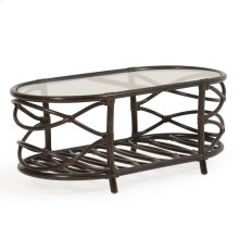 """45""""x24"""" Oval Cocktail Table"""
