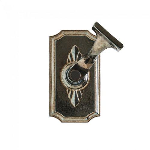 Bordeaux Handrail Bracket Bronze Dark Lustre