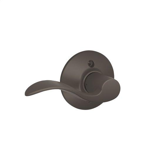 Accent Lever Non-Turning Lock - Oil Rubbed Bronze