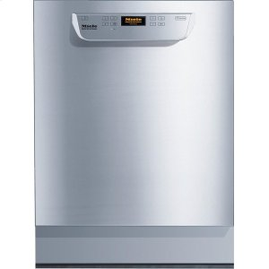 MielePG 8056 U [208V] Built-under fresh water dishwasher ADA compliant, with baskets for hotels, restaurants and catering companies.