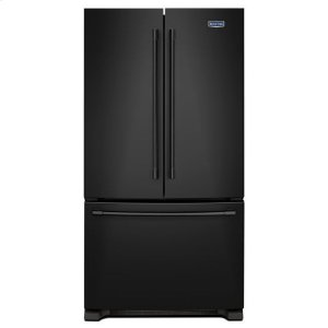 MaytagMaytag® 36-Inch Wide French Door Refrigerator - 25 Cu. Ft. - Black