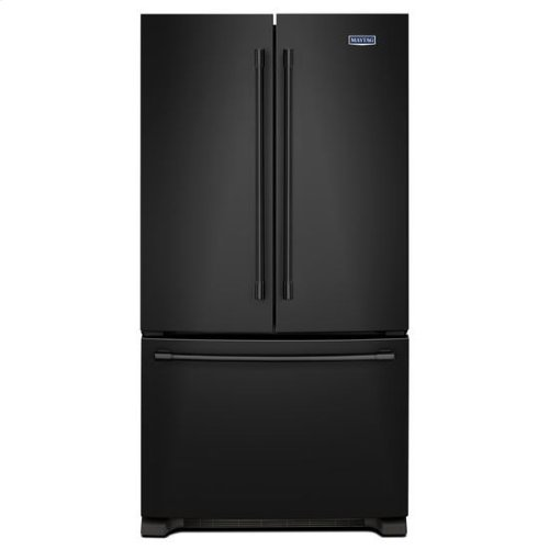 Maytag® 36-Inch Wide French Door Refrigerator - 25 Cu. Ft. - Black