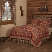 Dawson Star California King Quilt 130Wx115L