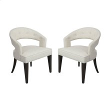 Cavendish Chair - Antique White Linen