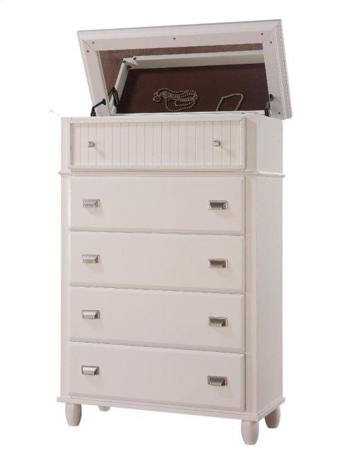 Spencer White Storage Bedroom