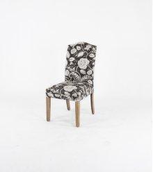 Camel top wood leg chair