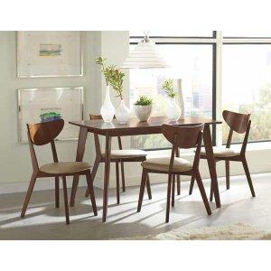 Kersey Retro Chestnut Dining Chair