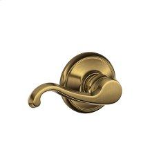 Callington Lever Hall & Closet Lock - Antique Brass