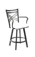 Raleigh B509H26AS Swivel Back And Arms Bar Stool Product Image