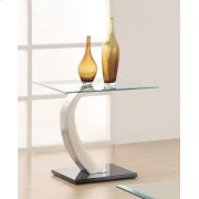 Contemporary End Table Product Image