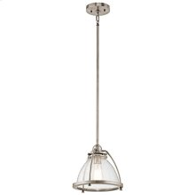 Silberne Collection 1 Light Silberne Pendant in Classic Pewter CLP