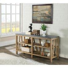 Weatherford - Sofa Table Top - Bluestone Finish